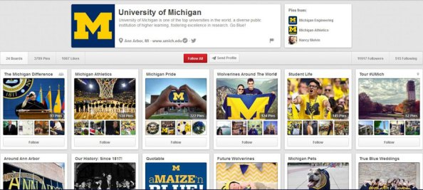 PinterestMichiganUnWeb