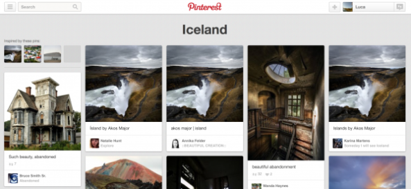 Pinterest Interests